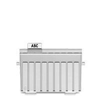 Bild HAN, Stützplatten, A5, grau
