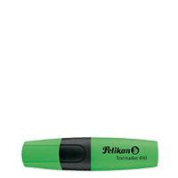 Bild Pelikan, Textmarker, grün