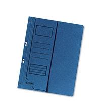 Bild herlitz Ösenhefter, A4, blau