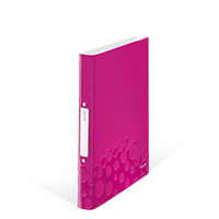 Bild LEITZ, Ringbuch, pink, metallic