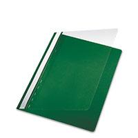 Bild 5 Star, Schnellhefter, A4, PP, grün, 5 Stück