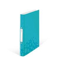 Bild LEITZ, Ringbuch, blau, metallic