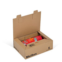 Bild Mailbox, Basic S, braun