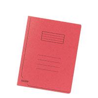 Bild FALKEN, Einschlagmappe, A4, rot