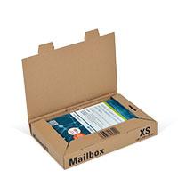 Bild Mailbox, Basic XS, braun