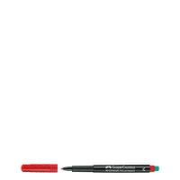 Bild Faber-Castell, Folienschreiber, rot