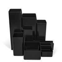 Bild M&M, Stifteköcher, schwarz