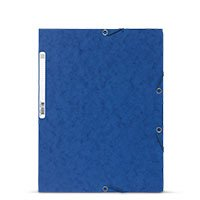 Bild EXACOMPTA, Eckspannmappe, A4, blau