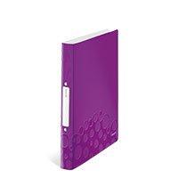 Bild LEITZ, Ringbuch, violett, metallic