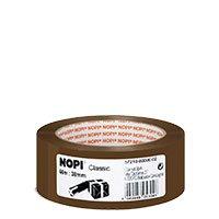 Bild Nopi Packband, PP, braun, 38 x 66 m