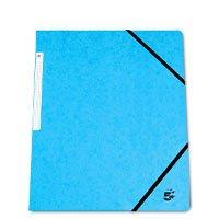 Bild 5 Star, Eckspannmappe, blau