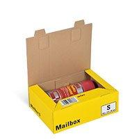 Bild Mailbox, Basic, gelb/anthrazit