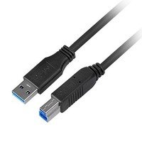 Bild USB 3.0 Anschlusskabel, Typ A/B, 0,5 m
