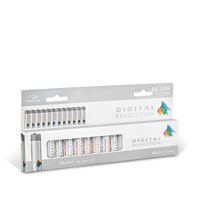 Bild Batterien 'Mignon AA', 1,5V, 12 Stück
