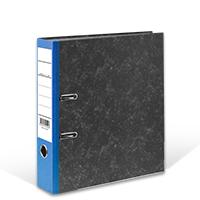 Bild Ordner, DIN A4, 8 cm breit, blau