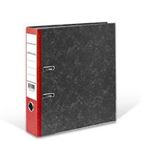 Bild Ordner, DIN A4, 8 cm breit, rot