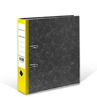 Bild Ordner, DIN A4, 8 cm breit, gelb