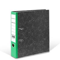 Bild Ordner, DIN A4, 8 cm breit, grün