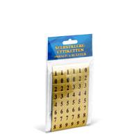 Bild Zahlen-Etiketten, 1 x 1,5 cm, 240 Stück