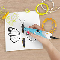 Bild 3D Druck-Stift 'Print Pen' mit LC-Display
