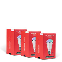 Bild LED 'Playbulb Rainbow', Bluetooth, 3er-Set