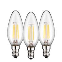 Bild Filament-LED 'Kerze', 4W, E14, 3 Stk.