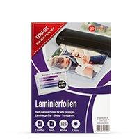 Bild Laminierfolie, 25+25 Stück A5 & A6 Format