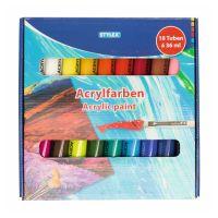 Bild Acrylfarbe, 18er Schachtel, á 36 ml