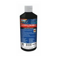 Bild Acrylfarbe, 500 ml, lampenschwarz