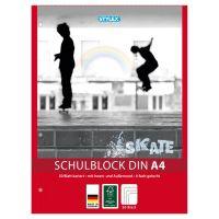 Bild Schulblock, DIN A4, gelocht, kariert, FSC