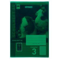 Bild Heftumschläge, DIN A5, grün, transparent