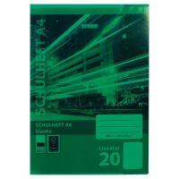 Bild Heftumschläge, DIN A4, grün, transparent