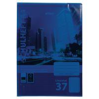 Bild Heftumschläge, DIN A4, blau, transparent