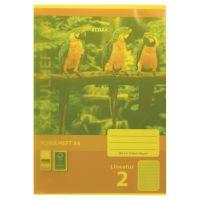 Bild Heftumschläge, DIN A4, gelb, transparent