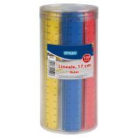 Bild Lineal, Kunststoff, 17 cm, farbig