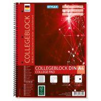 Bild Collegeblock Spirale DIN A4 kariert