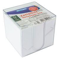 Bild Zettelbox, weißes Papier