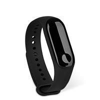 Bild Xiaomi Ersatz-Silikon Armband Mi 3/4 schwarz