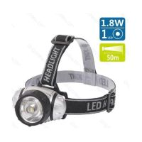 Bild LED Stirnlampe XXL, Silber