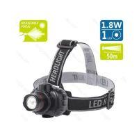 Bild LED Stirnlampe XXL, Schwarz