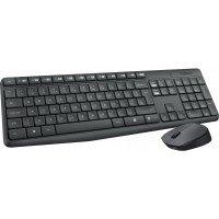 Bild Logitech Wireless Keyboard and Mouse -Grey- MK235