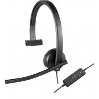 Bild Logitech USB Headset H570e Headset On-Ear Mono