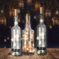 Bild 10er LED-Flaschen-Lichterkette, inkl. Timer