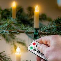 Bild 10 kabellose LED-Weihnachtsbaumkerzen
