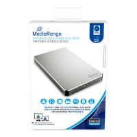 Bild externe USB 3.0 Festplatte, HDD, 1TB, silber
