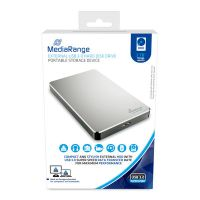 Bild externe USB 3.0 Festplatte, HDD, 2TB, silber