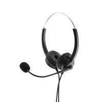 Bild MediaRange kabelgebundenes Stereo-Headset mit Mikrofon und Bedienungsfunktion, schwarz