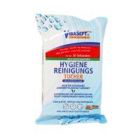 Bild VibaSept Hygiene Reinigungstücher 40er BIOZID