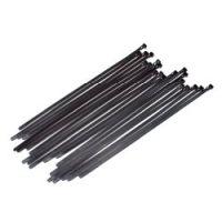 Bild Kabelbinder, flacher Verschluß, 20 Stück, 7,5x350mm, wiederverschließbar