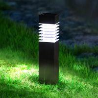 Bild LED Solar Außenleuchte, schwarz